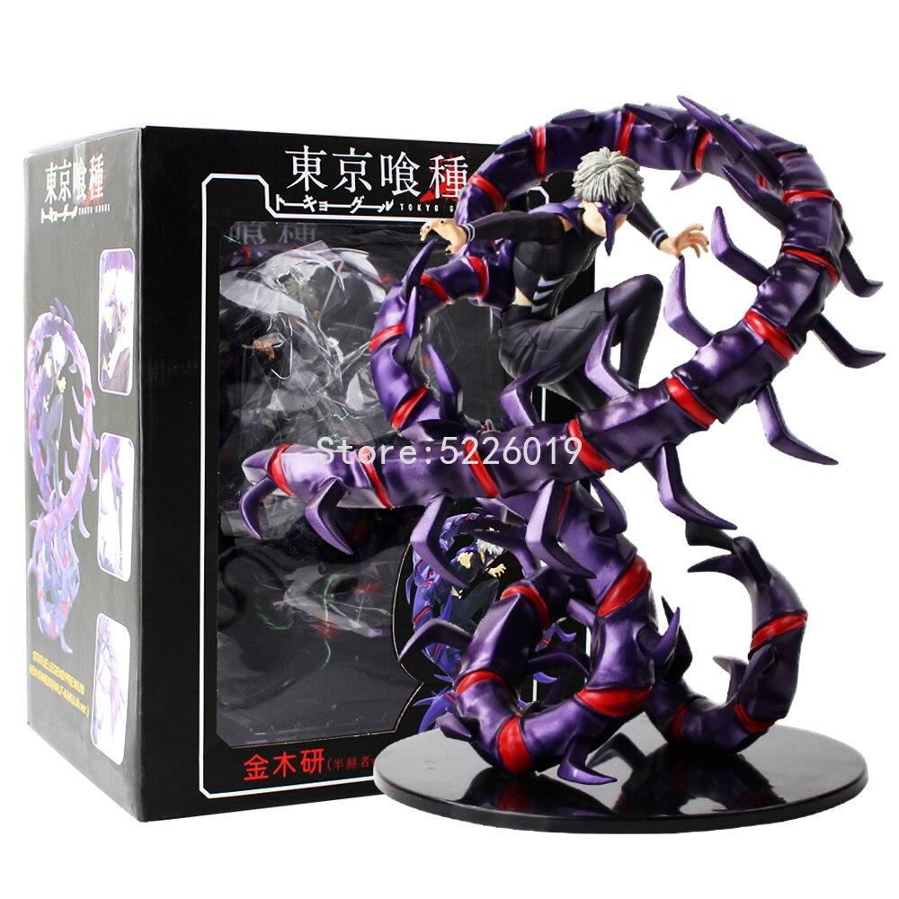 28cm Anime Tokyo Ghoul Figure Kaneki Ken Figure Generation Of Dark Jin Muyan Figurine PVC Action Figure Colletible Model Toy
